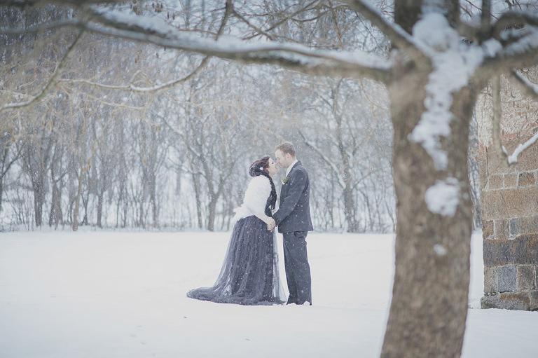 alternative winter wedding